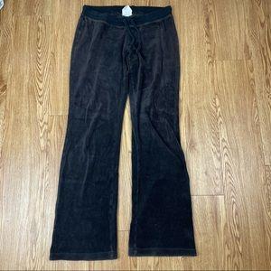 Old Navy Brown Velvet Sweat Pants Size XS